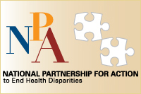 The National Partnership for Action to End Health Disparities