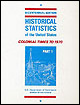 Historical Statistics of the United States: Colonial Times to 1970, Pt. 1-2.