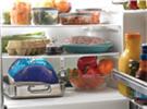 foods in refrigerator