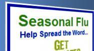 CDC Seasonal Flu Updates RSS Reader Gadget Image