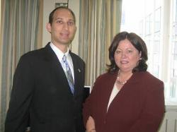 May 6, 2008 – Deputy Secretary Troy meets with the Honorable Mary Harney, T.D., and Minister for Health and Children, Republic of Ireland. They discussed electronic health records, value driven health care, patient safety and other key issues.