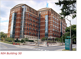 Photo of NIH Building 50