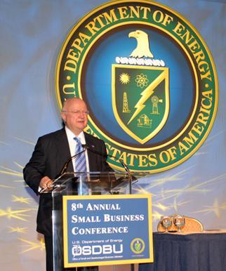 Secretary Bodman addresses DOE's 8th Annual Small Business Conference