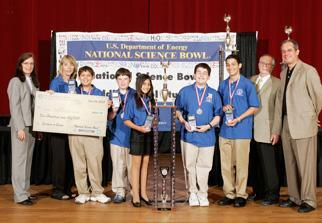2007 National Middle School Science Bowl winners
