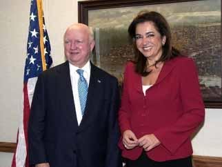 Secretary Bodman meets Greek Foreign Minister Bakoyianni