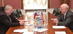 Secretary Bodman meets with Russian Atomic Energy Director Rumyantsev