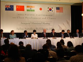 Secretary Bodman at the Asia-Pacific Partnership for Clean Development and Climate