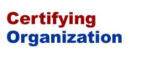 Certifying Organization