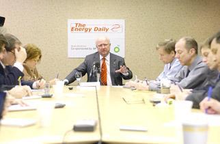 Secretary Bodman at the Energy Daily Media Breakfast