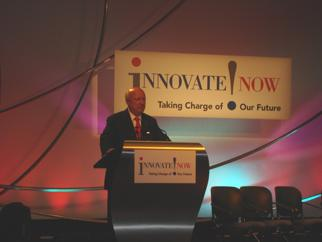 Secretary Bodman at the Chicagoland Innovation Summit