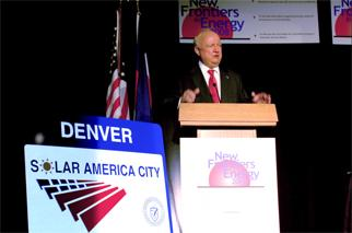 Secretary Bodman announces $2.4 million for solar energy projects in 12 U.S. cities