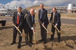 Secretary Bodman and Other Senior DOE officials Break Ground for NREL's Research Support Facility