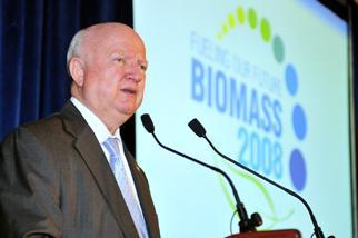 Secretary Bodman speaks at the 2008 Biomass Conference