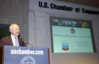 Secretary Bodman at the U.S. Chamber of Commerce
