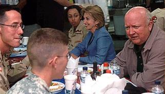 Secretary Bodman Meets with U.S. Troops in Kuwait