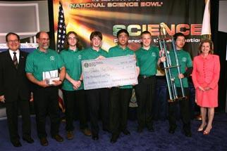 Poudre High School from Fort Collins, CO wins DOE's National Science Bowl