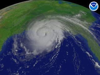 Hurricane Gustav regional imagery, 2008.09.01 at 1515Z. Centerpoint Latitude: 29:21:10N Longitude: 90:59:20W.