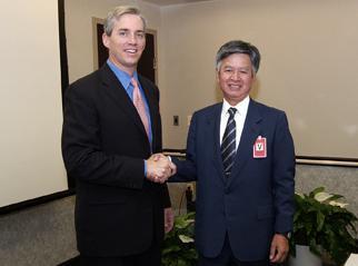 Deputy Secretary Sell welcomes Director-General Mochizuki