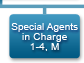 Special Agents in Charge 1-4, M