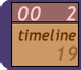 Graphical timeline icon