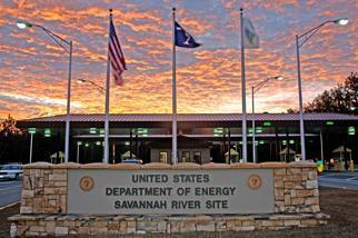 Savannah River Site at Sunset