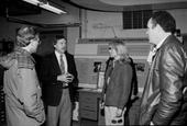 Assistant Secretary for ES&H, Mary Walker and Oak Ridge Operations Manager, Joe La Grone receive a briefing