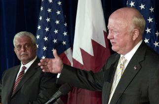 Secretary Bodman and Qatari Energy Minister Al-Attiyah host a press conference