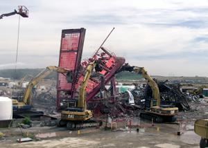 Fernald Topples Last Former Uranium Production Complex