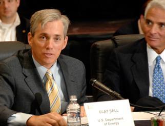 Deputy Secretary Sell meets Florida Governor Crist