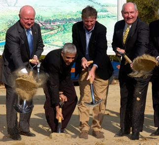 Secretary Bodman, Georgia Governor Sonny Perdue, and Others Break Ground for a New Biorefinery