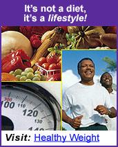 It's not a diet, it's a lifestyle