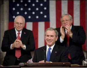 President Bush delivers his 2006 State of the Union Address