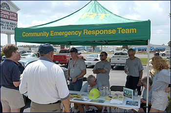 Picture of CERT members