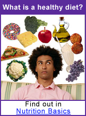 What is a healthy diet? Find out in Nutrition Basics.