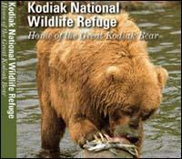 DVD cover of the Kodiak National Wildlife Refuge — Home of the Great Kodiak Bear. Credit: Steve Hillebrand / USFWS
