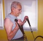 Emil Exercising.