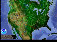 Click to view latest 12-hour fronts/precip forecast