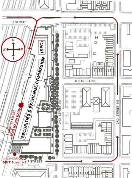 Loading Dock Map
