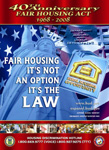 [Image: 2008 Fair Housing Month Poster.]