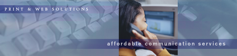 Print & Web Solutions: Affordable Communication Services