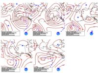 Day 4-8 Fronts and Pressures for Alaska