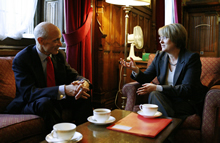 Secretary Chertoff and Home Secretary Jacqui Smith