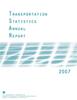 Transportation Statistics Annual Report (TSAR) 2007