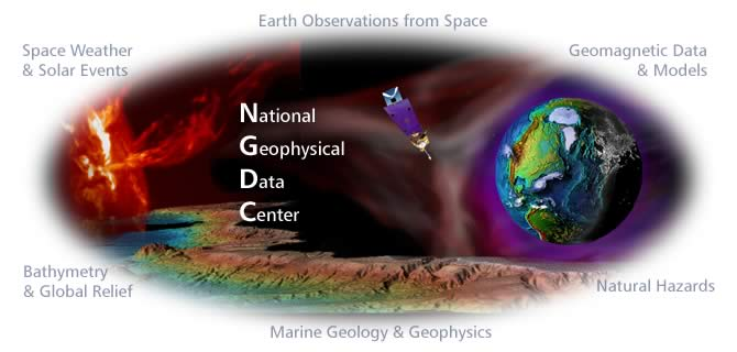 National Geophysical Data Center Collage