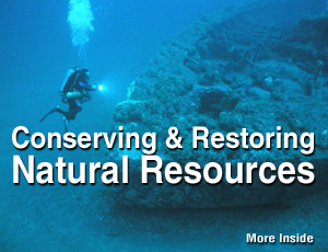 Conserving and Restoring Natural Resources.