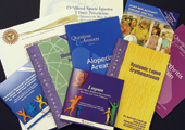 Photo of institute health publications