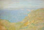 A picture of Monet's Cliffs Near Dieppe, 1897