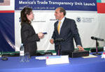 ICE launches Trade Transparency Unit in Mexico City as part of bi-lateral cooperation with Mexico Customs