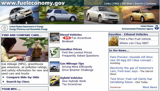 Sign of the times - Consumers worried about high gasoline prices have an ally in the ORNL-run Fueleconomy.gov website. The Fuel Economy Information Program outstripped its initial goal of 10 million visits in a year about two years ago and has since almost tripled that number.