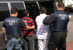 ICE agents make arrests